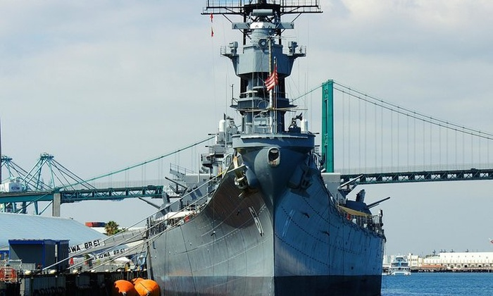 Battleship Iowa Tour